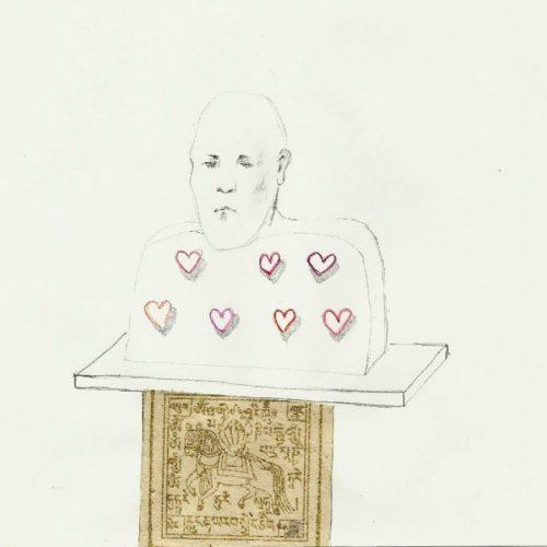 tekeningen 2011-heroic heart